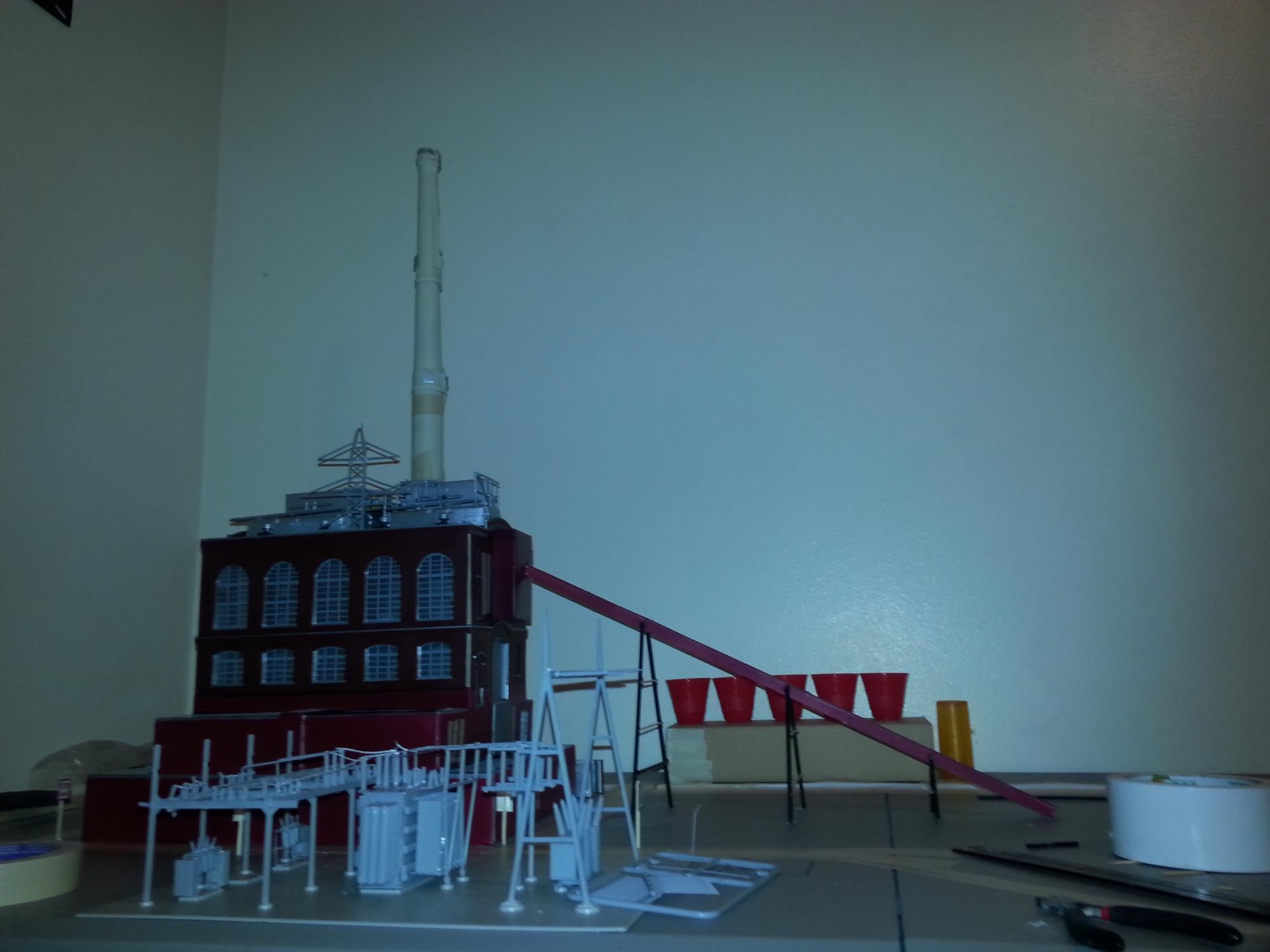 power plants | Model Railroad Hobbyist magazine