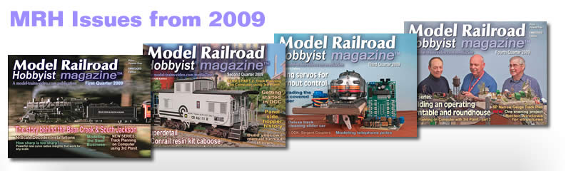 All the issue of MRH released in 2009