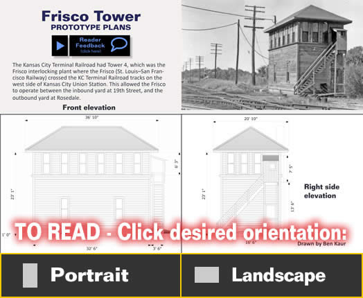 Frisco Tower - prototype drawing - MRH Article April 2013