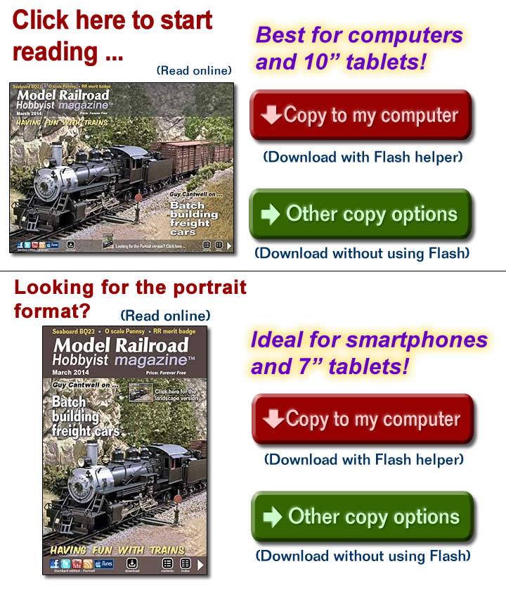 MRH 2014-03 - March 2014 | Model Railroad Hobbyist magazine