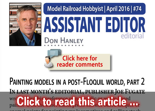 Asst Editor's Thoughts: Painting models in post-Floquil