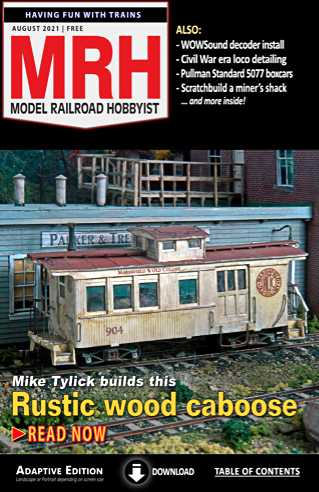 Current MRH issue cover ... click to start reading.
