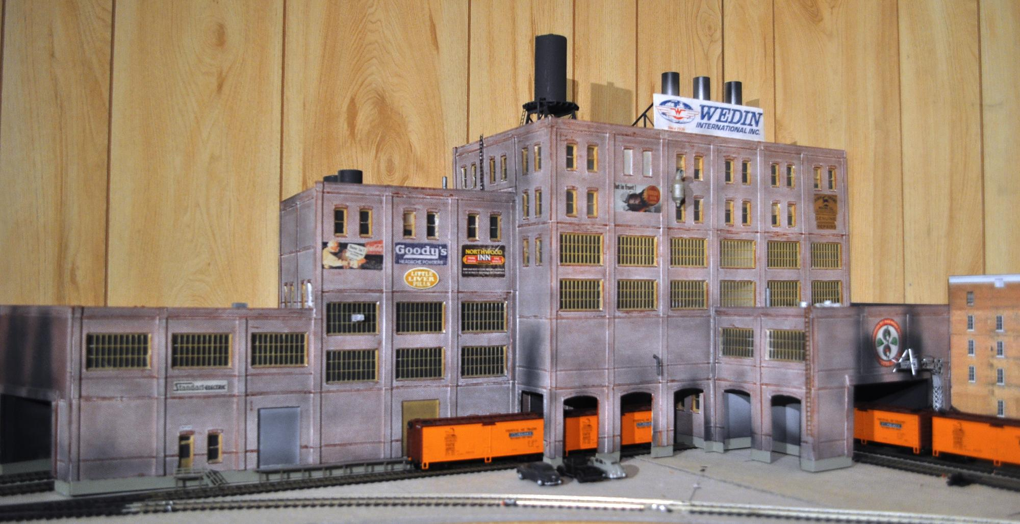 Model Train Guide: More Model railroad building signs
