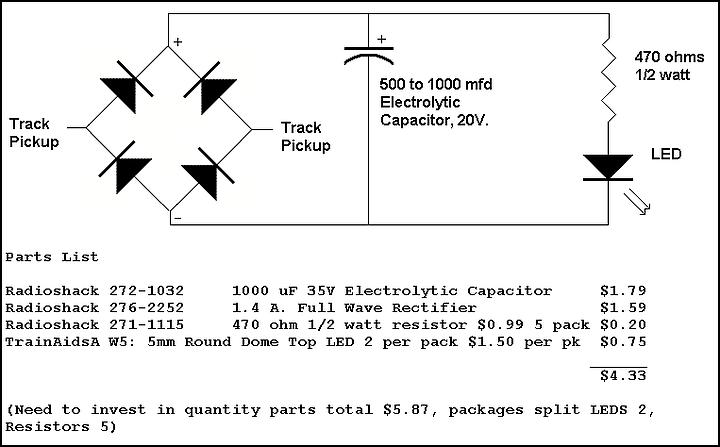 Constant Lighting Circuit - Dc