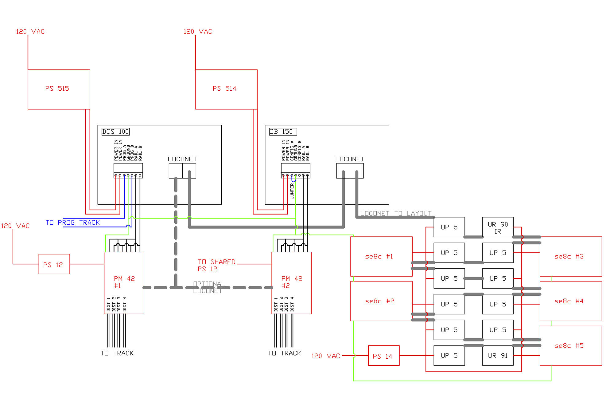 Wiring For Dcc Loconet Diagram Custom Ho Library Of U2022 Rh Jessascott Co Digitrax Trains