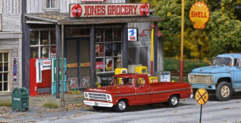 A close up of Jones' Grocery