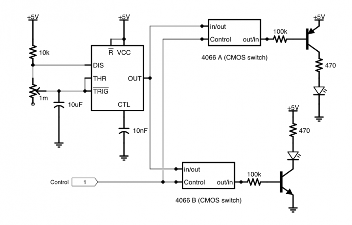 build a crossing signal circuit