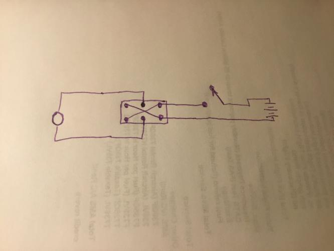 Wiring Diagram For Dpdt Switch  U0026 Motor