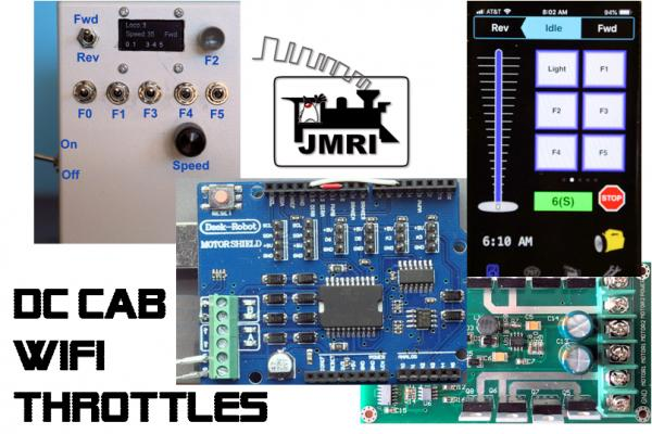 SMA32 / JMRI Does DC+ ! …with up to 4-8 WiFi or JMRI DC Cabs