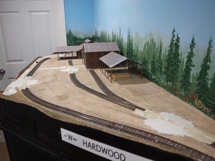 Rework of the quot hardwood lumber mill complex model