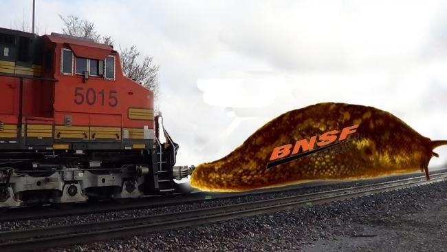 Rare BNSF slug Unit - Model Railroader Magazine - Model